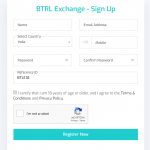 How to Use BTRL Exchange in 5 steps joining KYC withdrawal and deposit