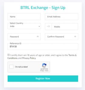 btrl refer and earn programs